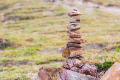 Stacking of stone Royalty Free Stock Photography