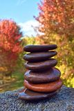 Stacking Stones, Balance, Relax Royalty Free Stock Photos
