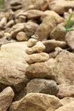 Stacking stones royalty free stock image