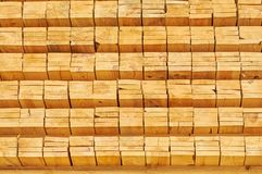 stacking wooden planks for construction royalty free stock photo