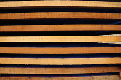 Stacks of boards Stock Images