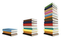 Stacks of books Royalty Free Stock Photos