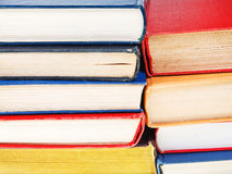 Stacks of books close up Royalty Free Stock Image