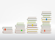 Stacks of books Royalty Free Stock Photo