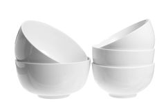 Stacks of Bowls Royalty Free Stock Photo