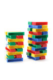Stacks of Building Blocks Stock Photos
