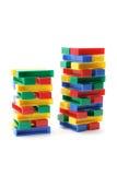 Stacks of Building Blocks Stock Photos