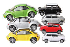 Stacks of Car Models Stock Images