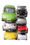 Stacks of Car Models Stock Image