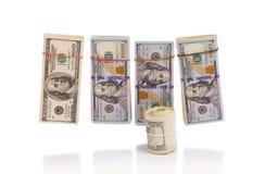 Stacks of cash Royalty Free Stock Image