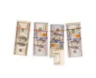 Stacks of cash Stock Photos