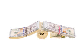 Stacks of cash Stock Photography