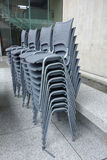 Stacks of Chairs Royalty Free Stock Image