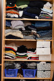 Stacks of clothes Royalty Free Stock Image