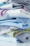 Stacks of clothing Stock Photography