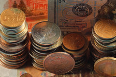 Stacks of coin Royalty Free Stock Photo
