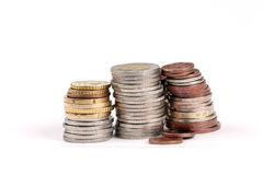 Stacks coins Stock Image