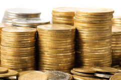 Stacks of coins . Stock Photography