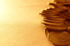Stacks of coins Royalty Free Stock Photo