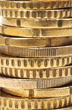 Stacks of coins Stock Photography