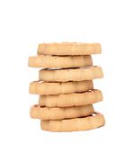 Stacks of cookies. Stock Photo