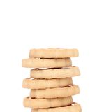 Stacks of cookies. Royalty Free Stock Photo