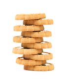 Stacks of cookies Royalty Free Stock Photo