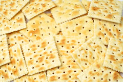 Stacks of crackers Stock Photography