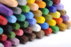 Stacks Of Crayon Royalty Free Stock Photo
