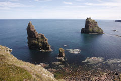 Stacks of Duncansby Stock Images