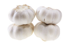 Stacks of Garlic Stock Photos