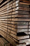 Stacks of hardwood Royalty Free Stock Images