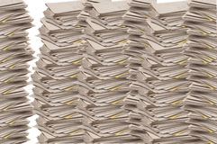 Stacks of Lined Paper Tablets Royalty Free Stock Photography