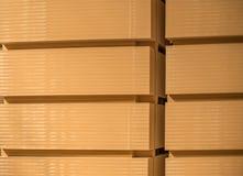 Stacks of the medium density fibreboard.  stock photo
