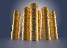 Stacks of money Royalty Free Stock Photo