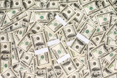 Stacks of Money Royalty Free Stock Images