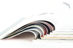 Stacks of newspapers Royalty Free Stock Photography