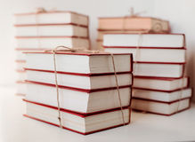 Stacks of old books Stock Photo