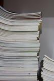 Stacks of old magazine Royalty Free Stock Image