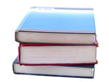 Stacks of Old Textbooks Royalty Free Stock Photos