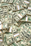 Stacks of one hundred dollars banknotes Royalty Free Stock Image