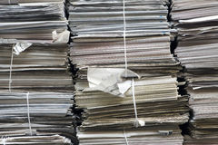 Stacks of paper full frame Royalty Free Stock Image