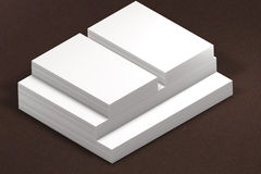 Stacks of paper. template to presentation Royalty Free Stock Image