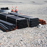 Stacks of pipe Royalty Free Stock Photo