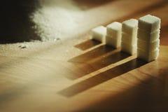 Stacks of sugar Royalty Free Stock Photo