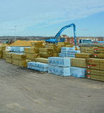 timber yard Stock Photography