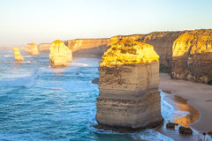 The stacks of the Twelve Apostles Stock Images