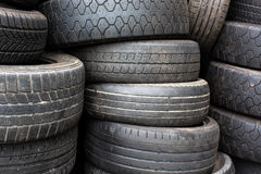 Stacks of  tyres Stock Image