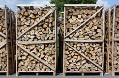 Stacks of Wood Stock Photos