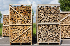 Stacks of Wood Royalty Free Stock Photo